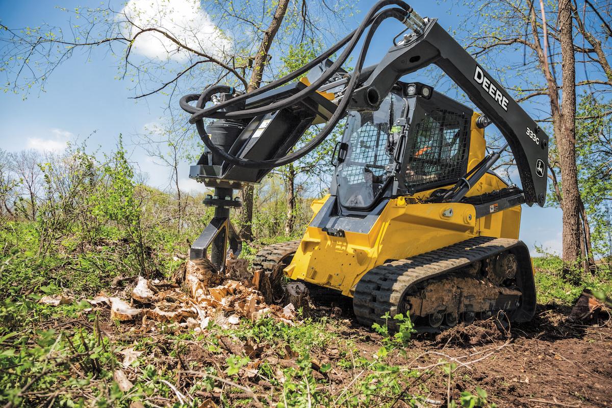 John Deere introduces SS30 stump shredder