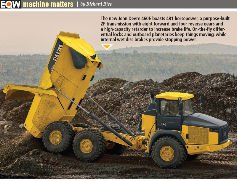 Dump Trucks Top Out At 60 Tons Oems Want Smaller Models