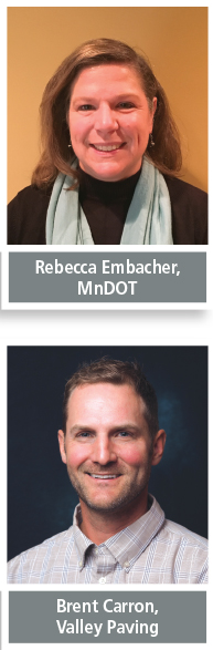 Rebecca Embacher and Brent Carron
