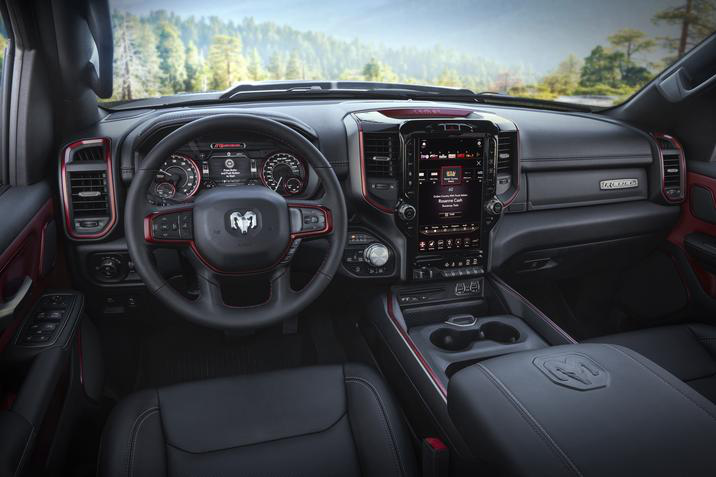 2019 Ram 1500 Rebel 12 interior