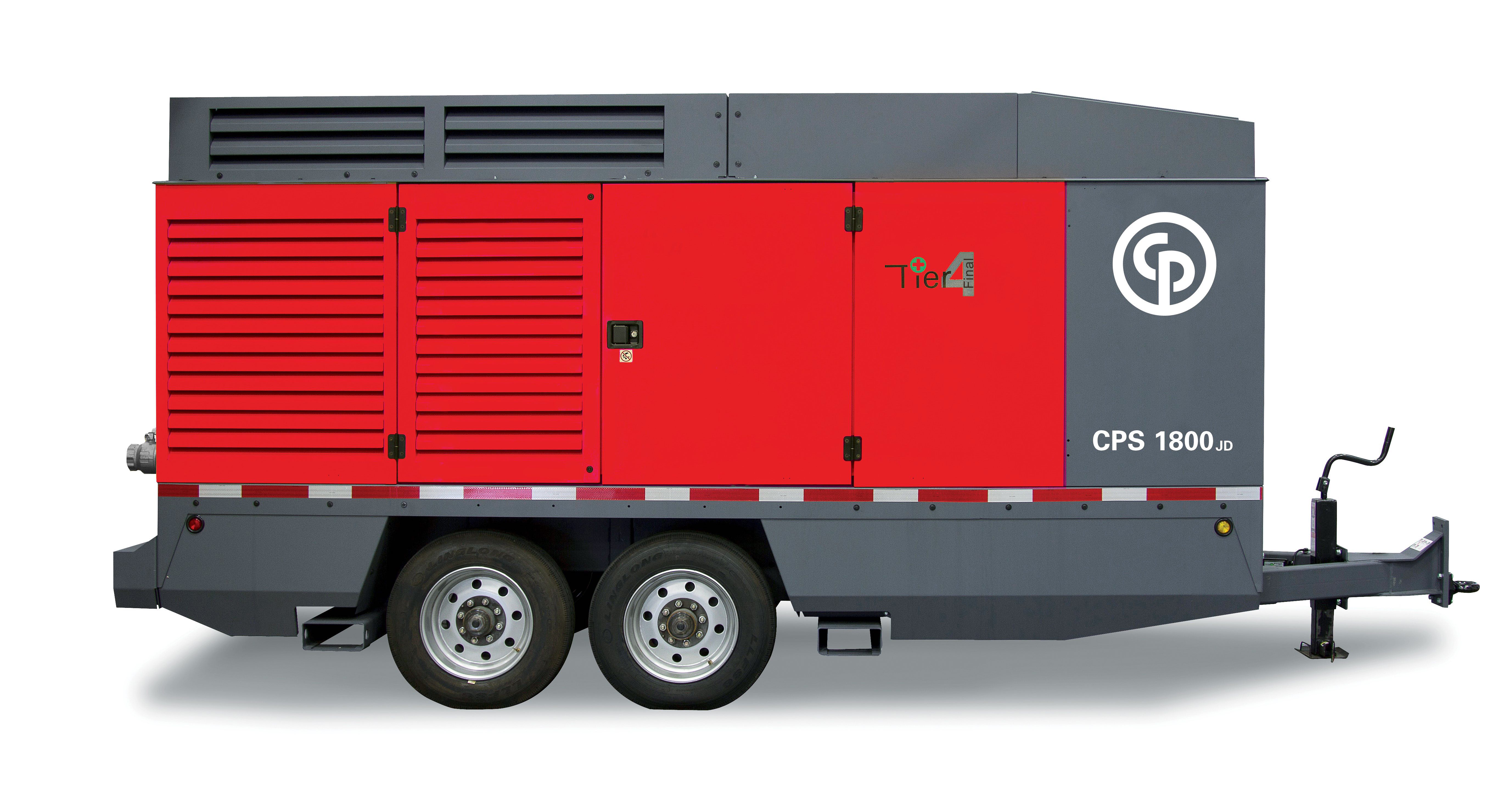 Chicago Pneumatic Debuts Largest Portable Air Compressor