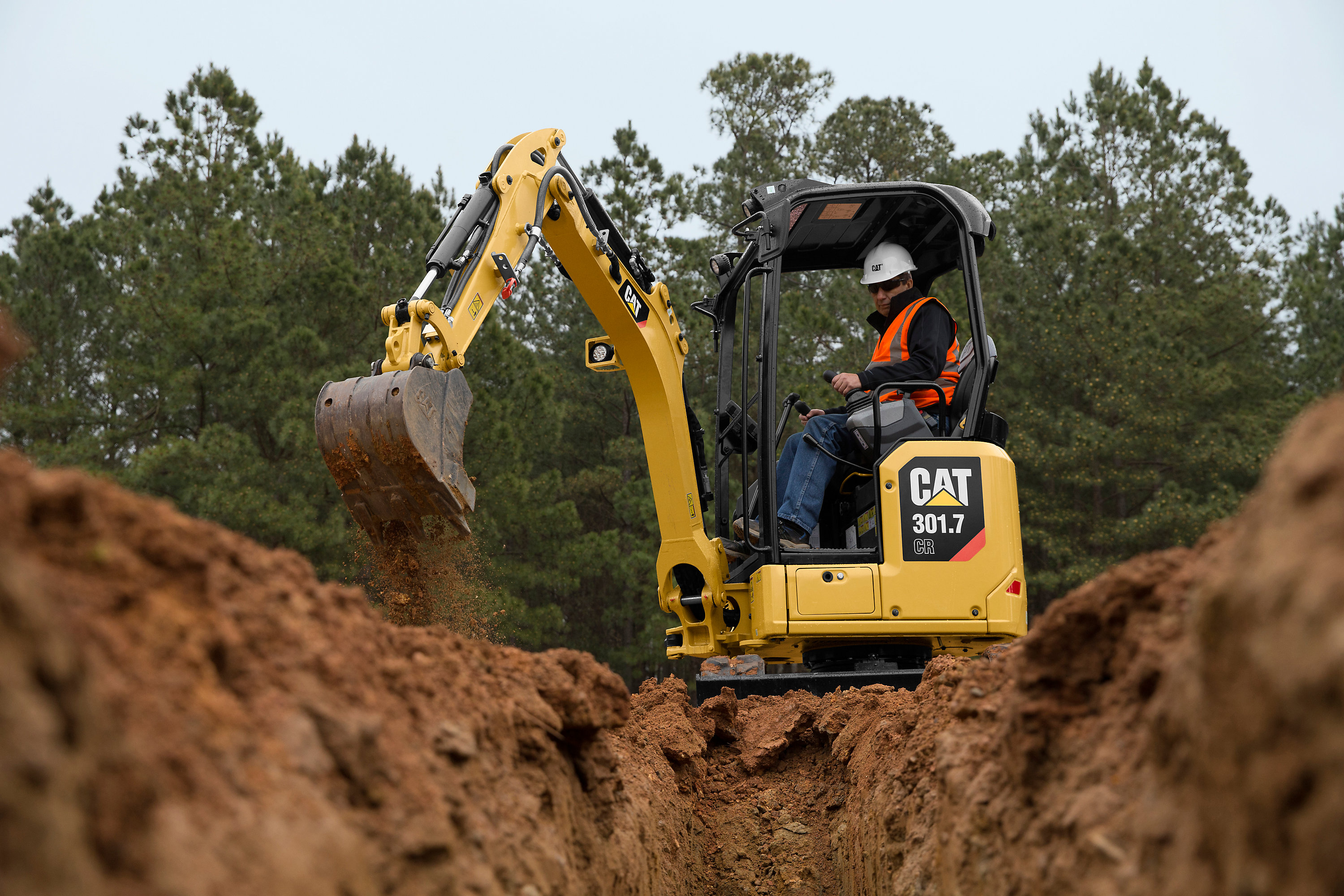 Caterpillar debuts 10 micro and mini excavators at GIE+EXPO