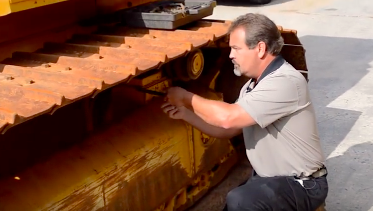 Dozer undercarriage wear and how to look for it