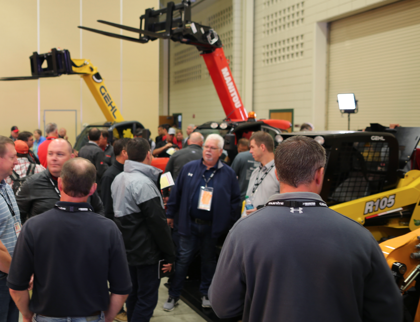 Manitou Dealers Size Up Brand New Lineup At Annual Meeting