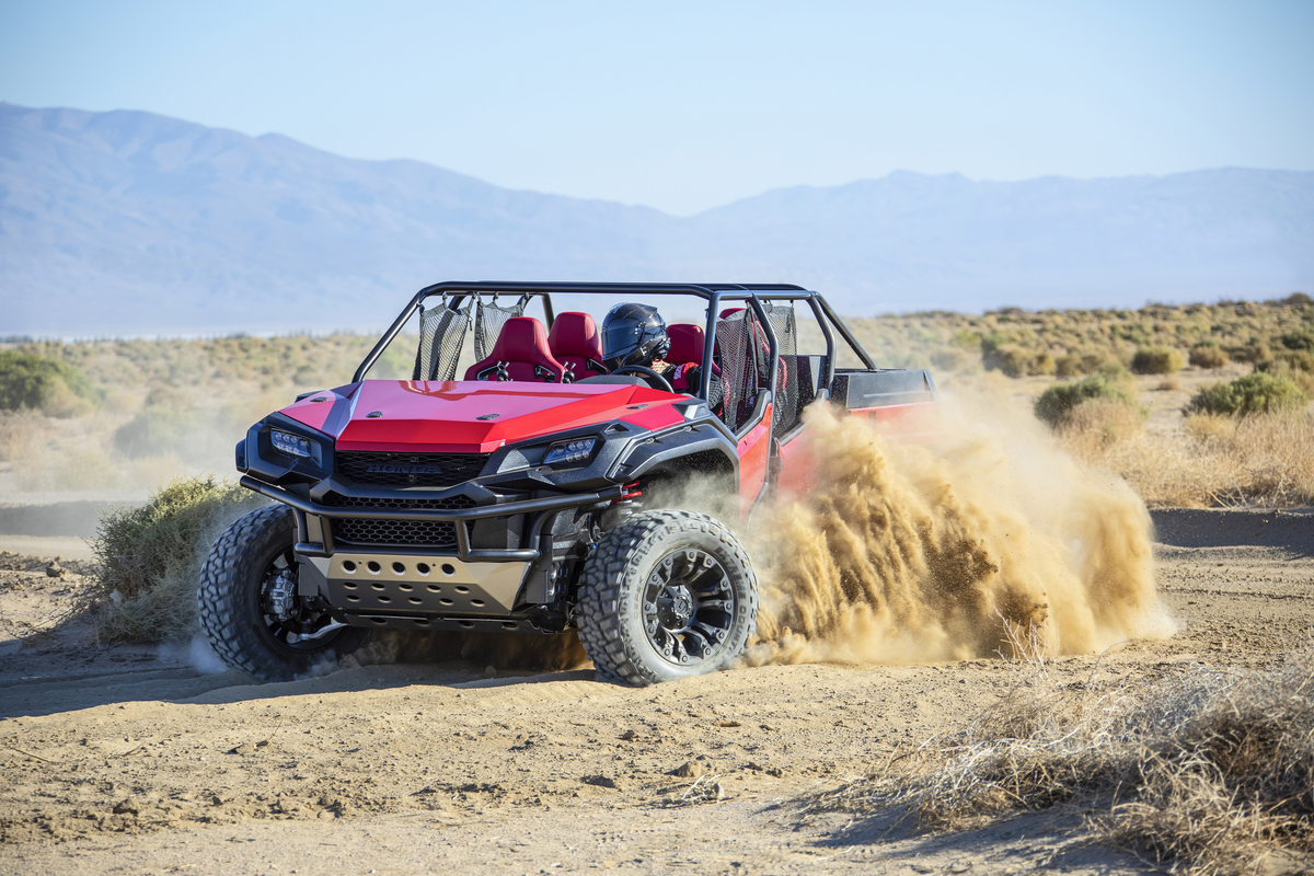 Honda Introduces Brand New Ridgeline X Utv Mash Up