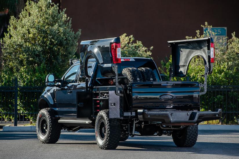 "All New 2019 Ford F-250 ""Transformer Work Truck"" at SEMA"
