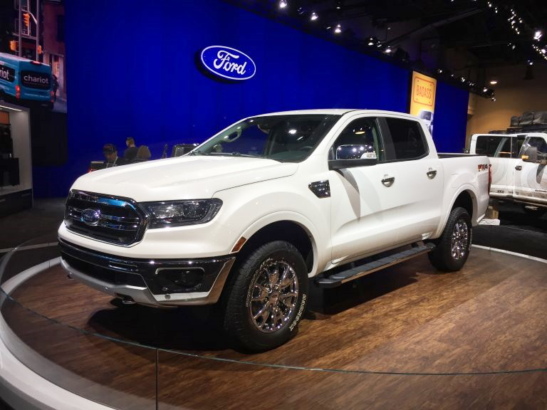 Custom 2019 Ford Rangers On Display At The 2018 Sema Show
