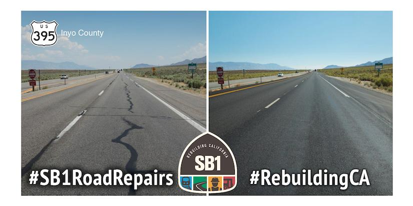 rebuilding california roads example