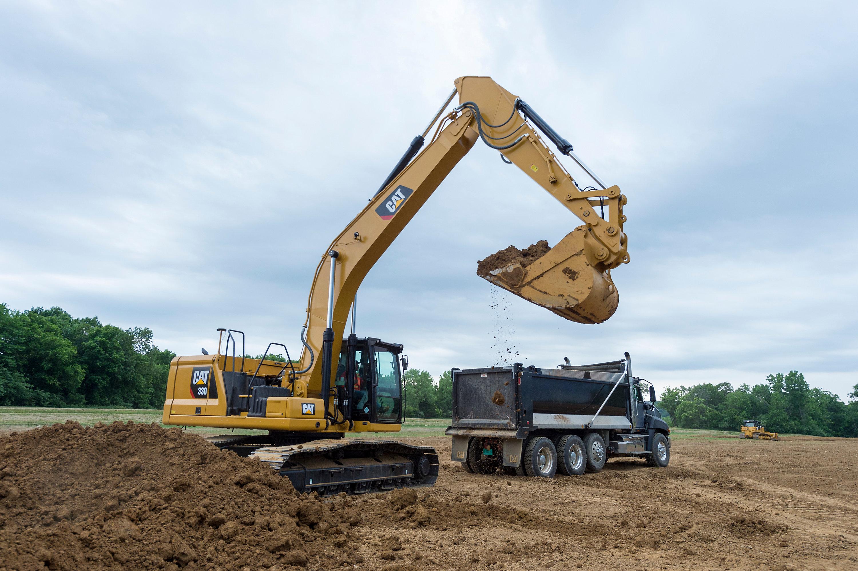 Cat's improved 30-ton excavators lower operating costs