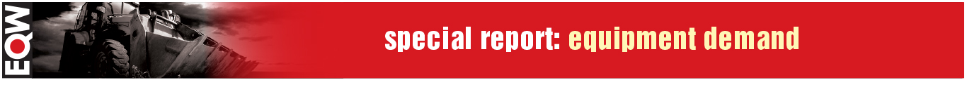 Equipment World Special Report: Equipment Demand Banner