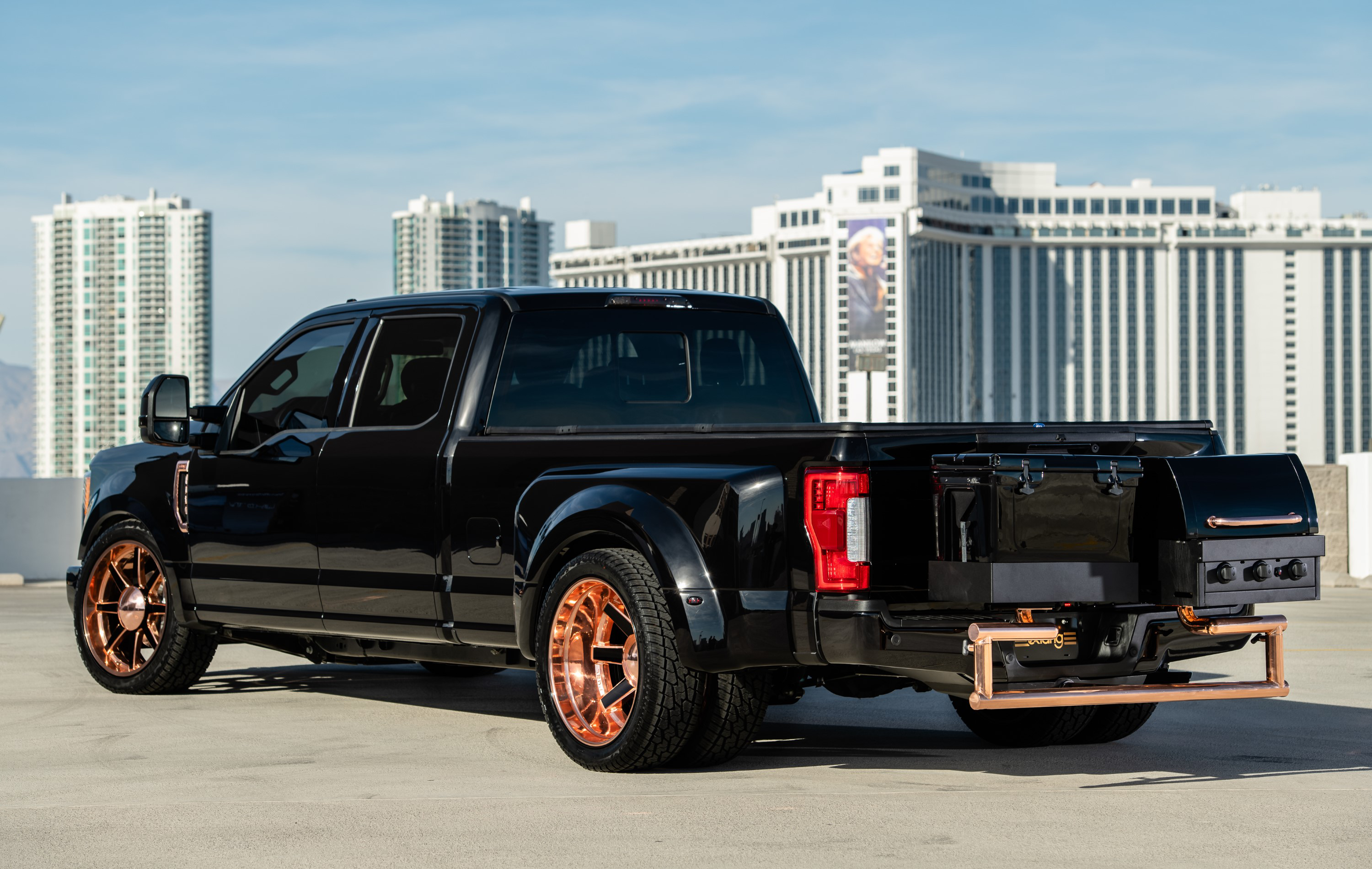 This Ford F 350 Can Transform Your Tailgate Experience