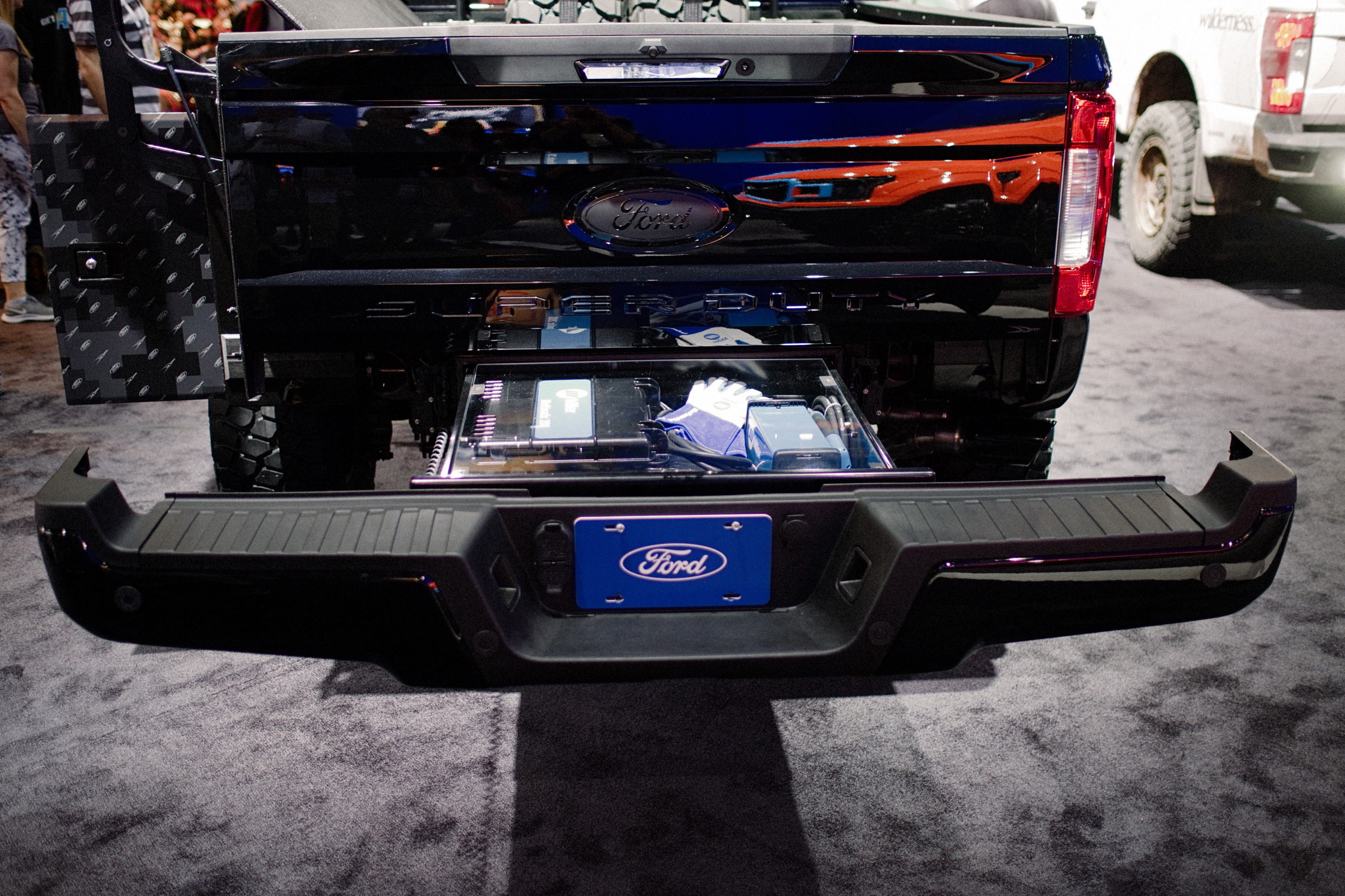 "All New 2019 Ford F-250 ""Transformer Work Truck"" at SEMA"