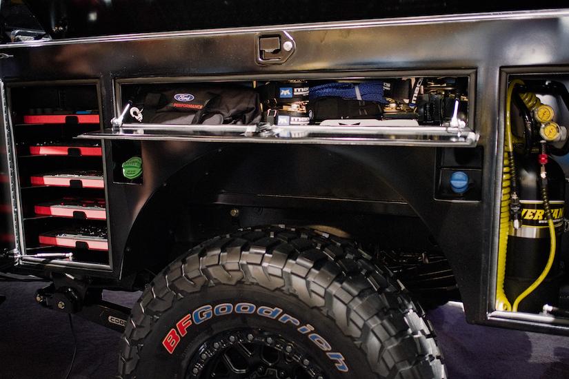 ford   transformer work truck  sema