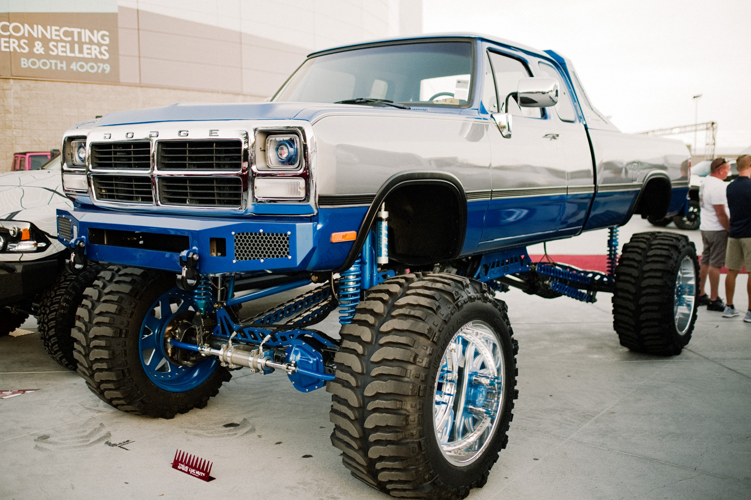 Vintage trucks from the SEMA 2018 show