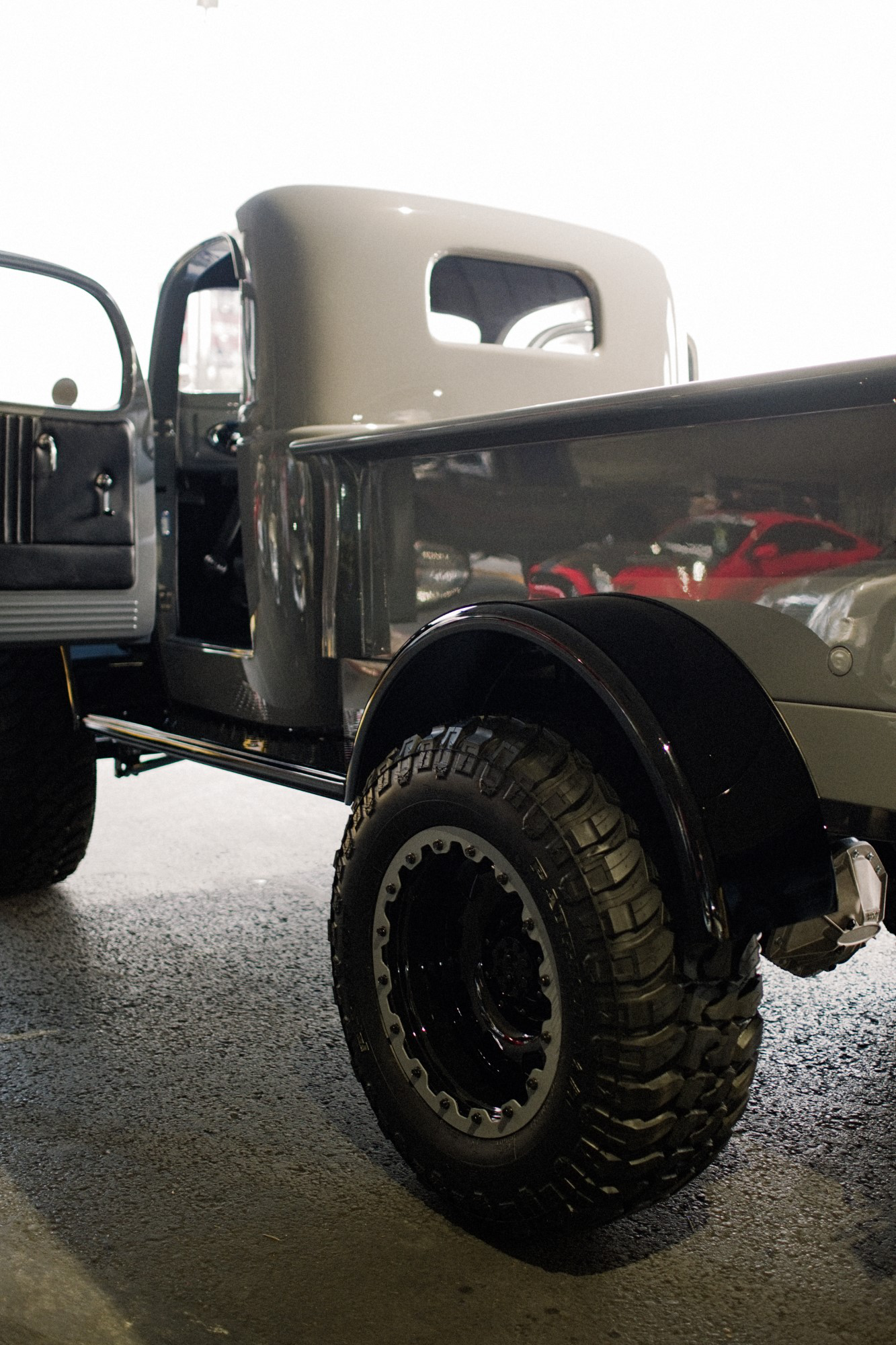 1941 Military Power Wagon side and tire