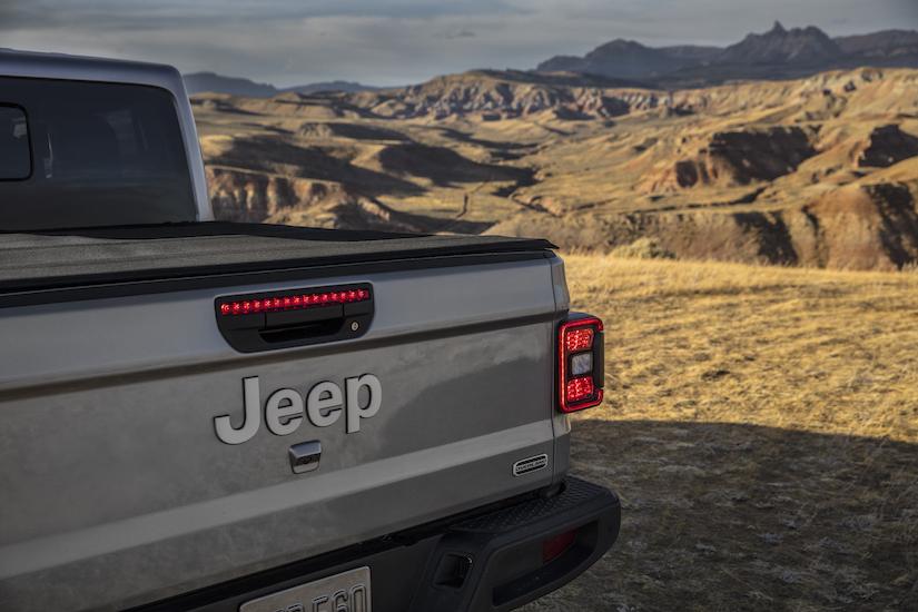 Back details of the 2020 Jeep Gladiator Overland