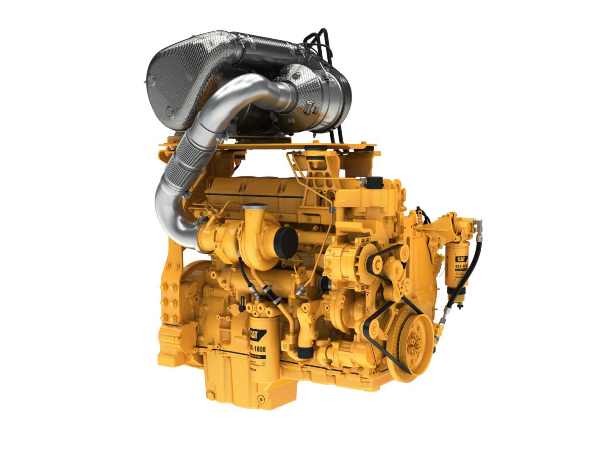 Caterpillar introduces new 12 3L C13B engine