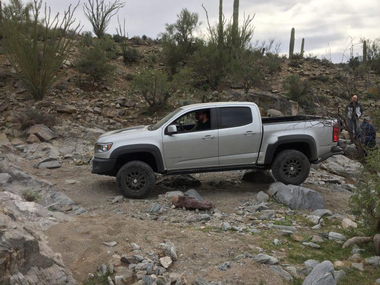Test driving Chevrolet's brand new Colorado ZR2 Bison