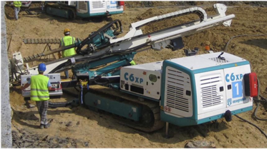 Casagrande C6XP Foundation Drill