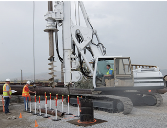 Soilmec R416 Drilling Rig