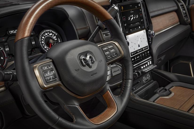 Ram Interior X on Dodge Ram 2500 Hood