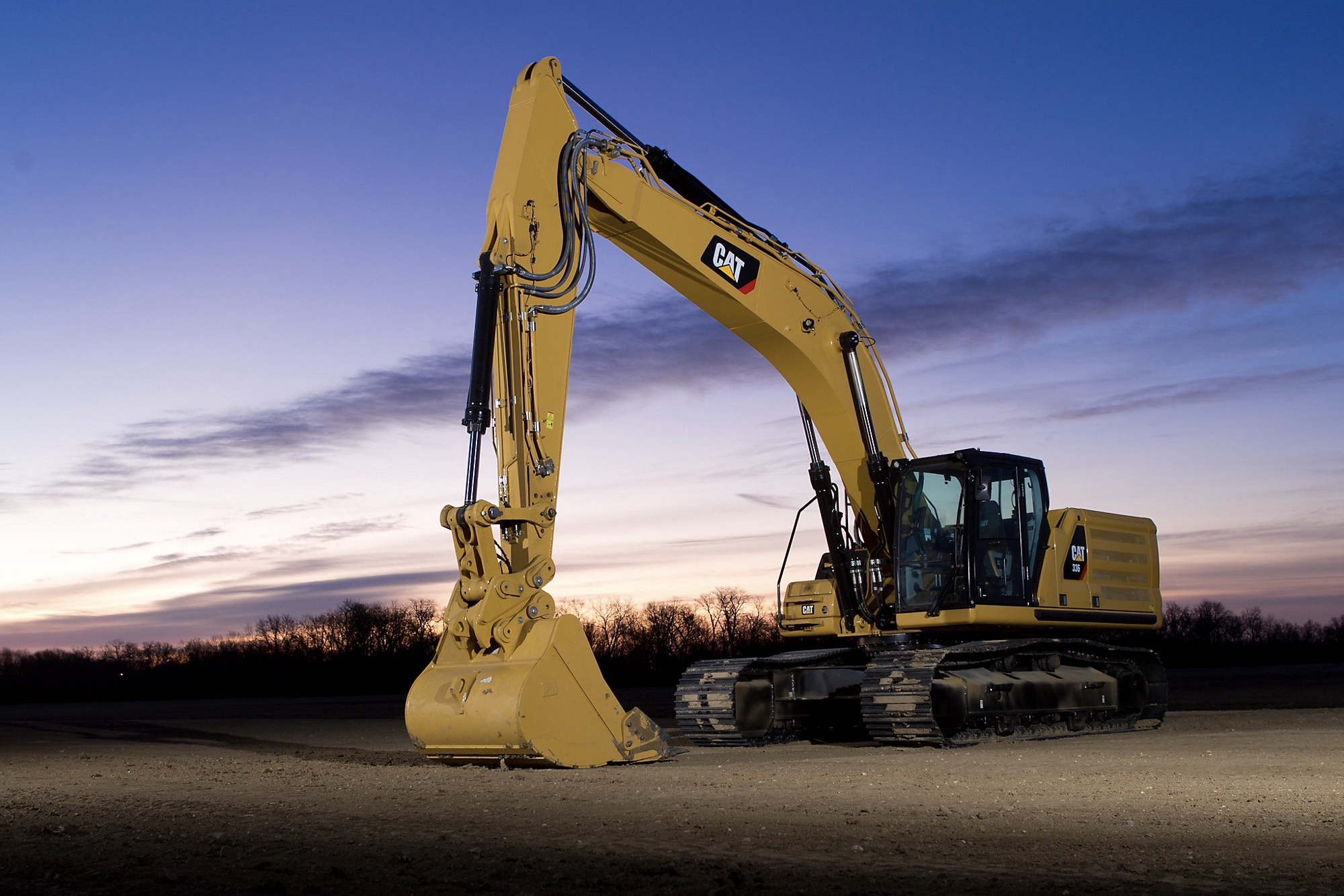 The Cat 336 is the latest technologically loaded excavator