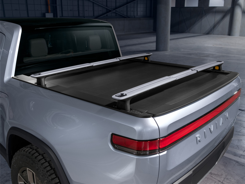 Rivian R1T™ All-Electric Truck truckbed