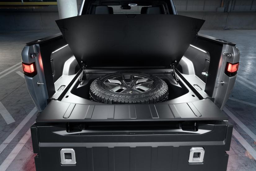 Rivian R1T™ All-Electric Truck spare tire