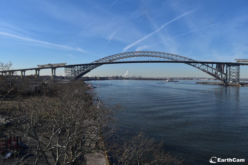 Bayonne Bridge from the NJ Earth Cam