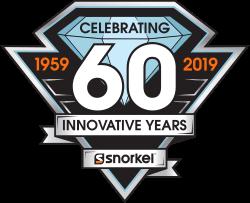 snorkel 60th anniversary logo