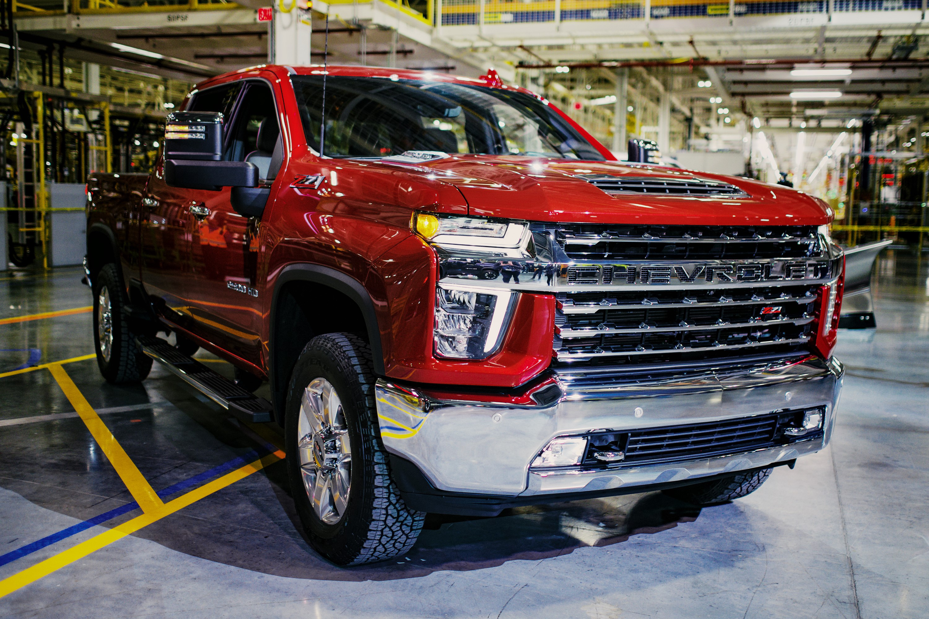 Chevrolet Highlights Features Of New Silverado Hd Lineup