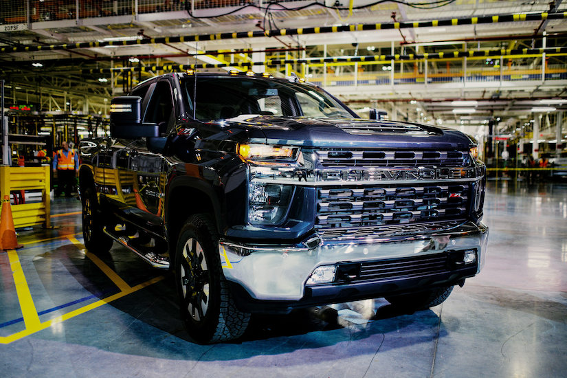 Chevrolet Silverado Heavy Duty made for heavy equipment