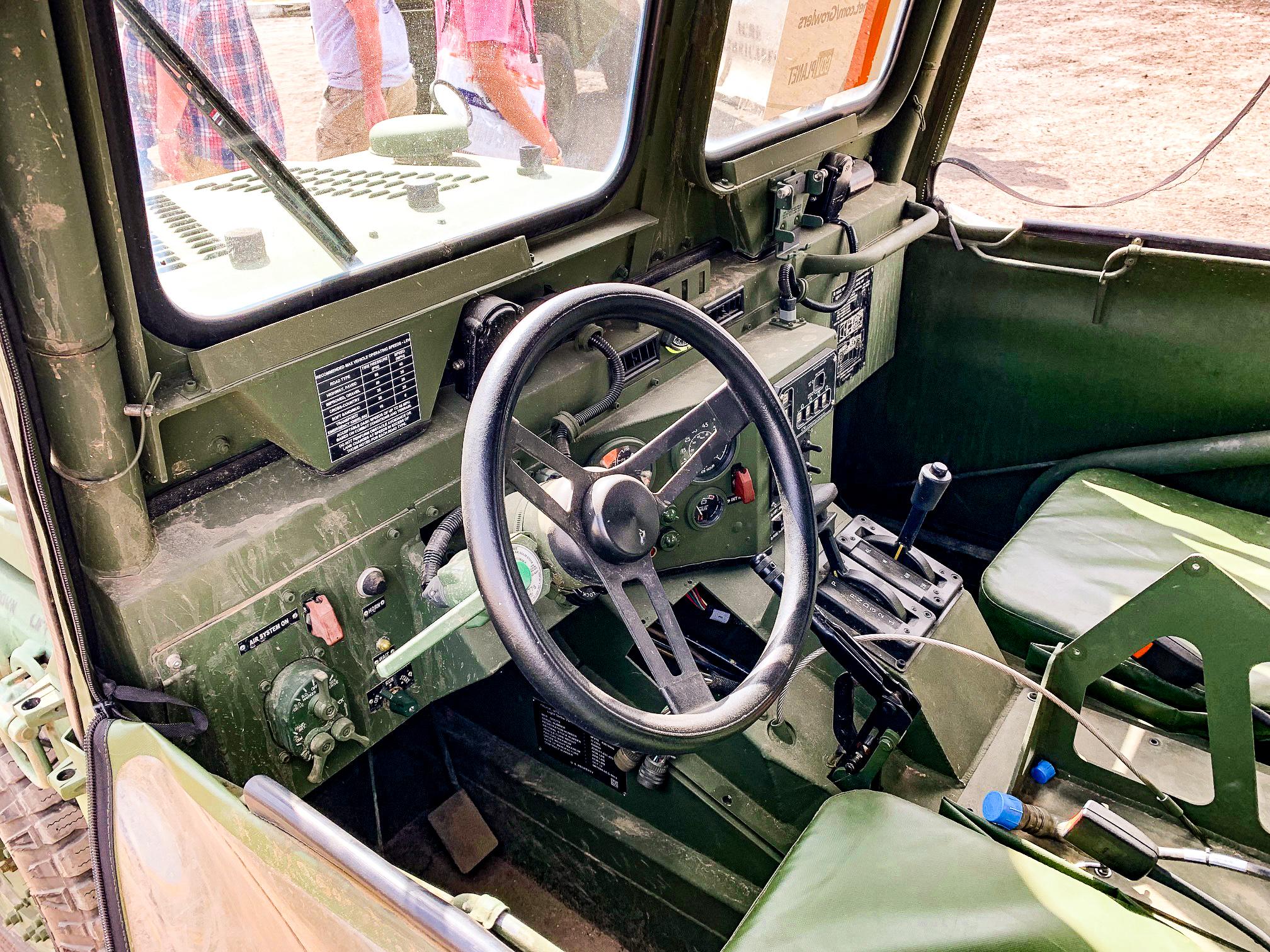 Growler inside dashboard view