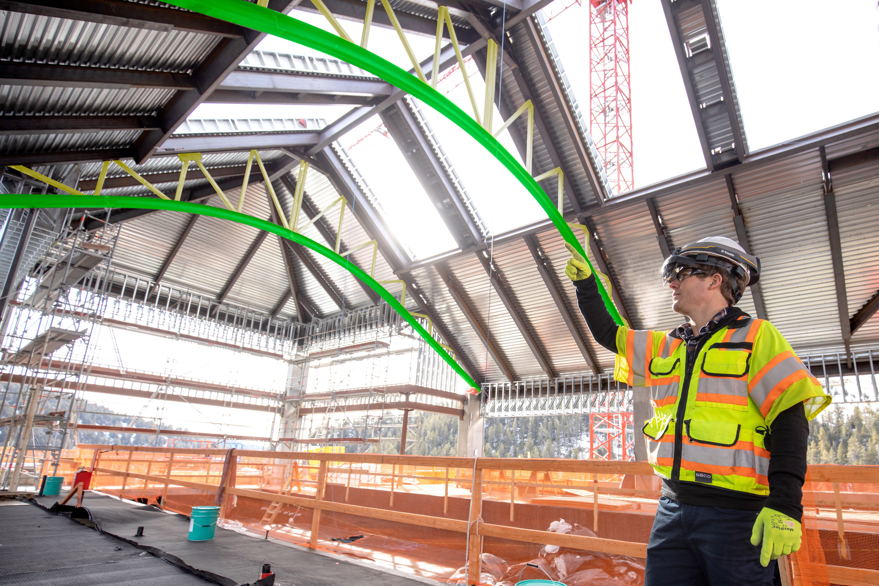 Trimble officially updates AR hard hat with HoloLens 2
