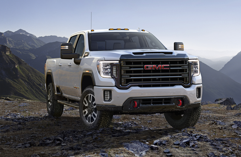 GMC brings its off-road AT4 trim to the Sierra HD for 2020