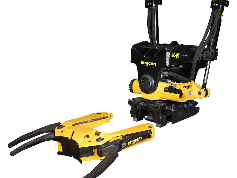 Engcon GRD70 Grab Cassette
