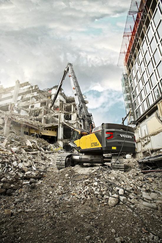 Volvo EC750E HR excavator