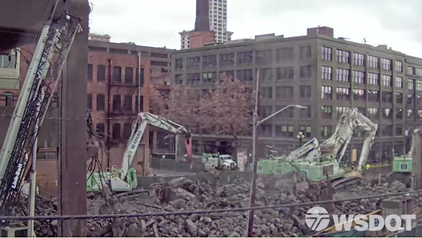 WSDOT demolition screenshot