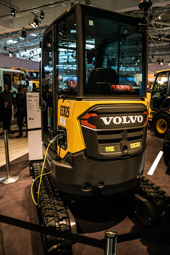 Volvo ECR25 electric wheel loader
