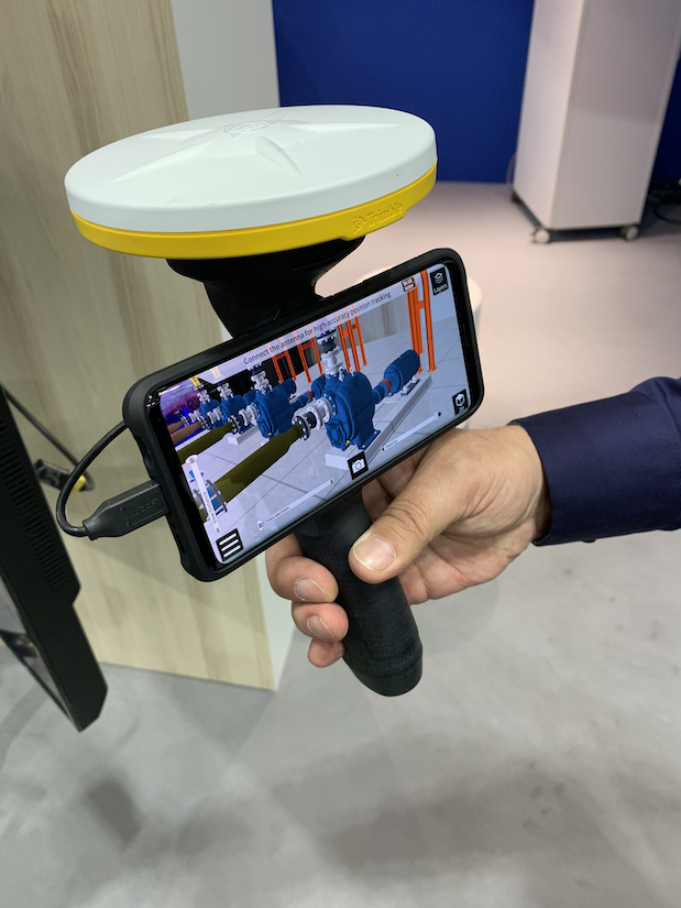Trimble Sitevision augmented reality viewer
