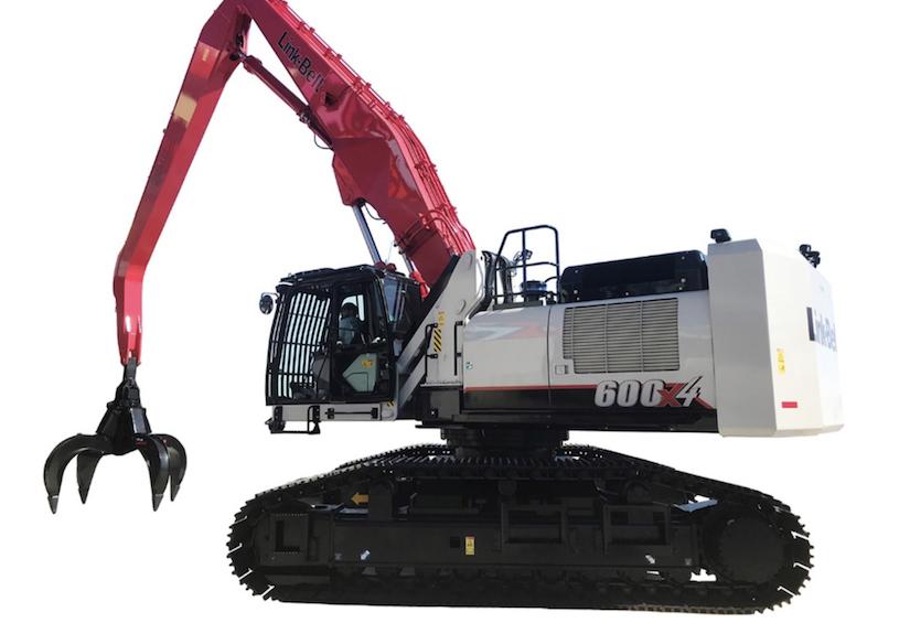 Link-belt excavator material handler 600x4