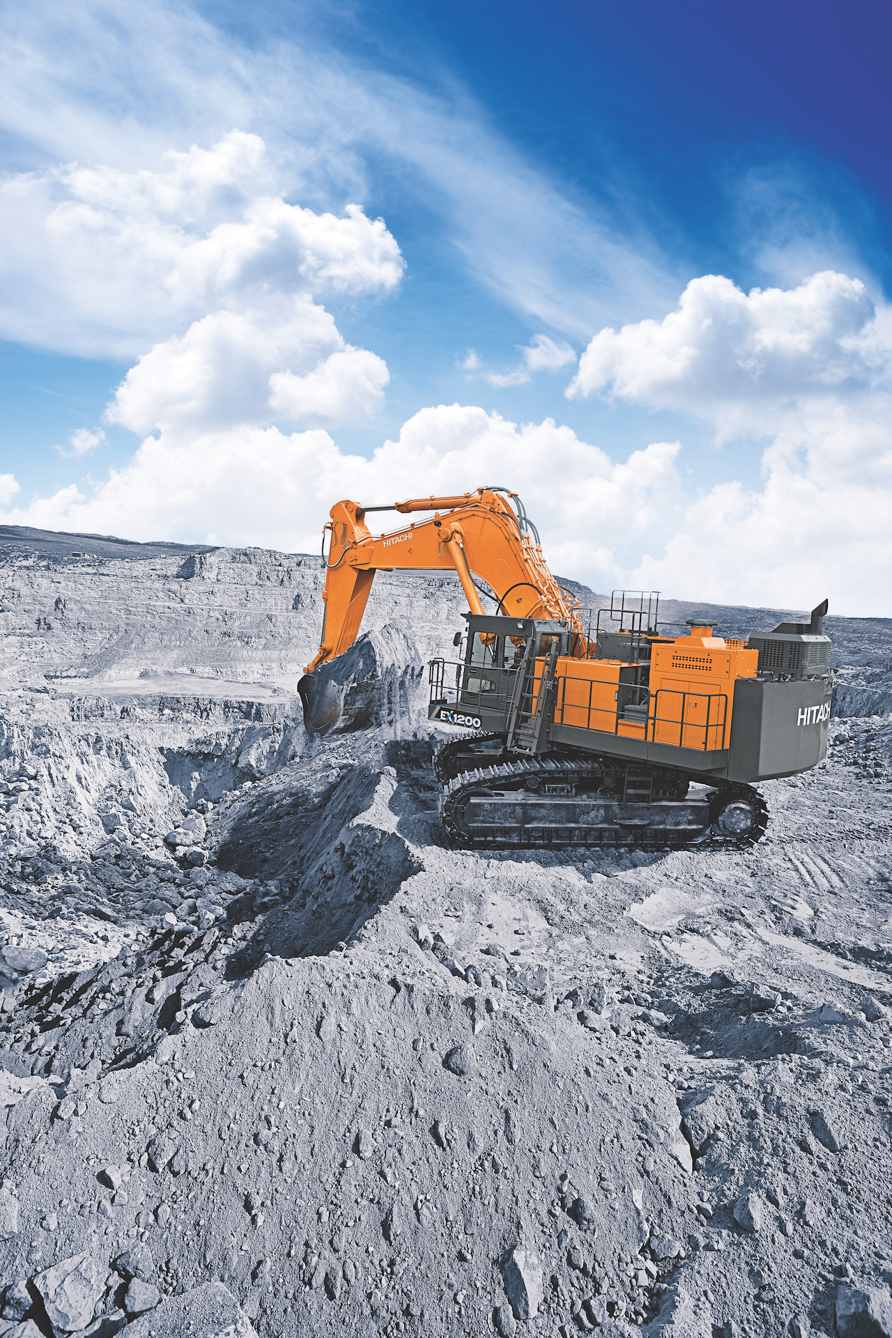 Hitachi Designs Mining Excavator For Use In Construction