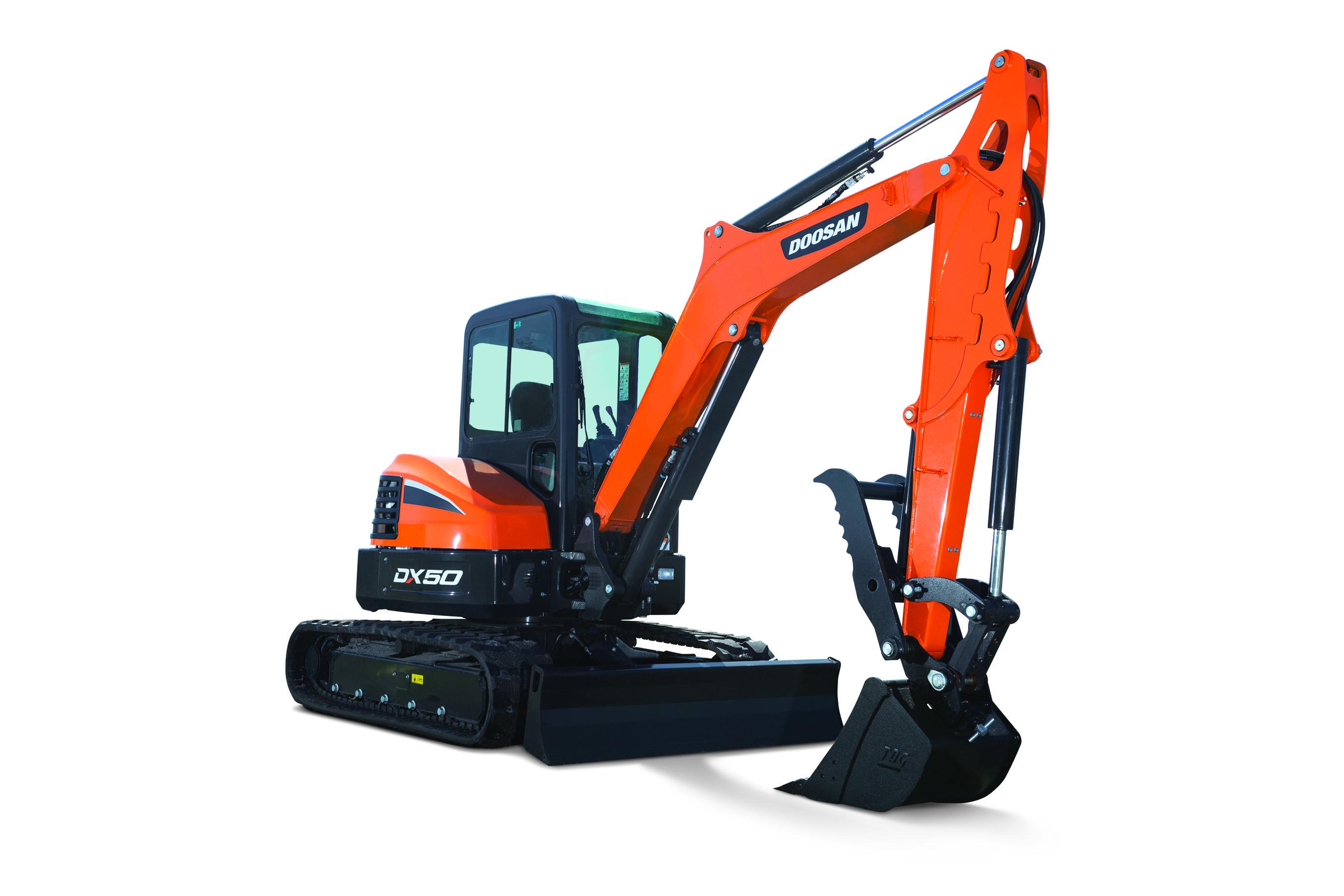 New Mini Excavators From Doosan Equipment World Magazine