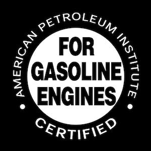 american petroleum institute certified for gasoline engines