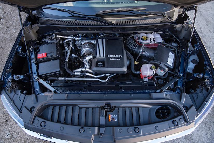 2020 Chevy Silverado 1500 duramax diesel engine