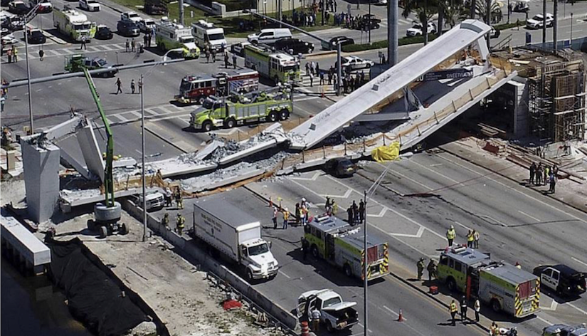 Engineer other firms settle with victims in FIU bridge collapse