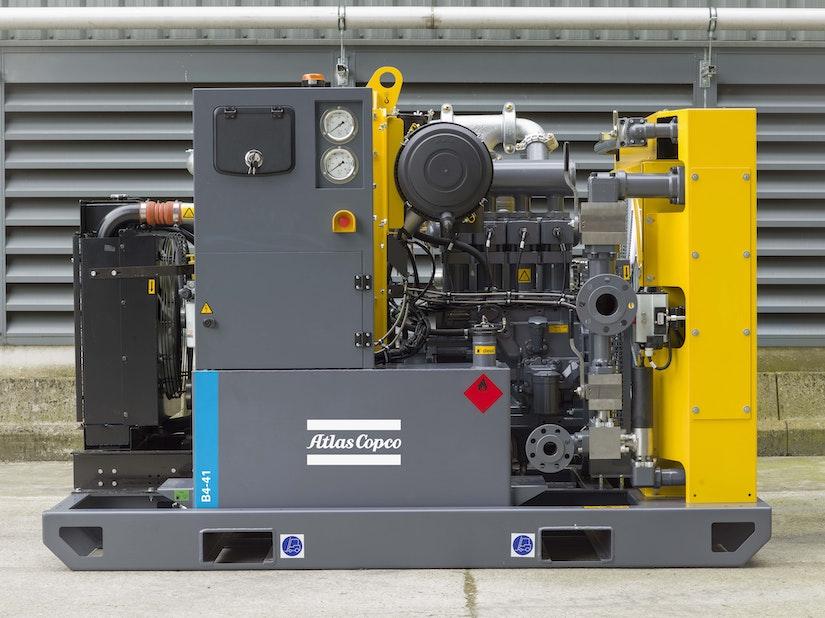 Atlas Copco high pressure booster compressor