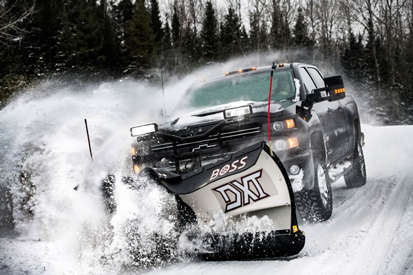 Boss intros new SK Box Plows for compact equipment alongside new snow removal products for pickups