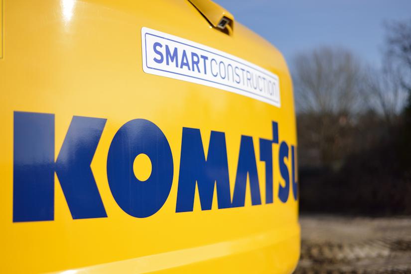smart construction komatsu machinery