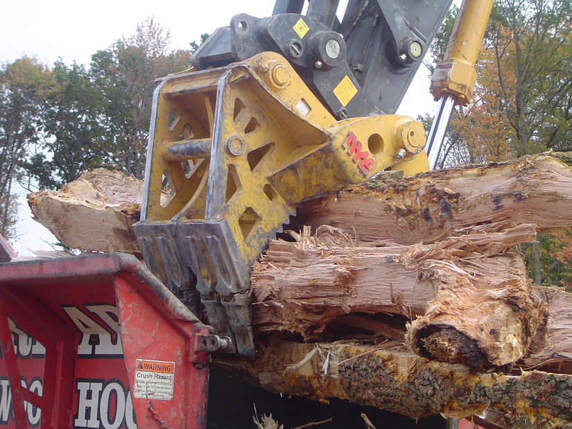 Nye Ultra Heavy Duty Stump Harvester